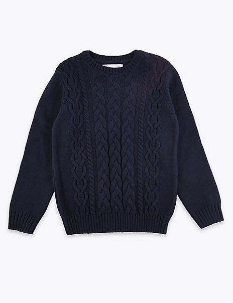 Cable Knit Jumper (3-16 Years)