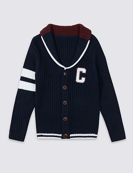 Cotton Rich Cardigan (3-16 Years)