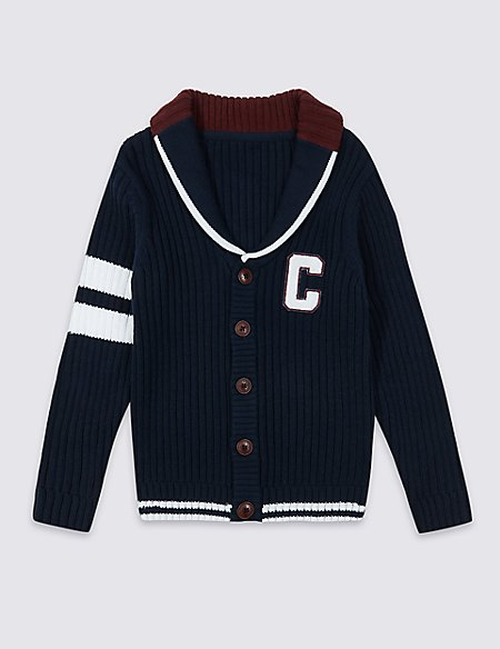 Cotton Rich Cardigan (3-16 Years)
