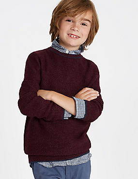 Knitted Jumper (3-16 Years)