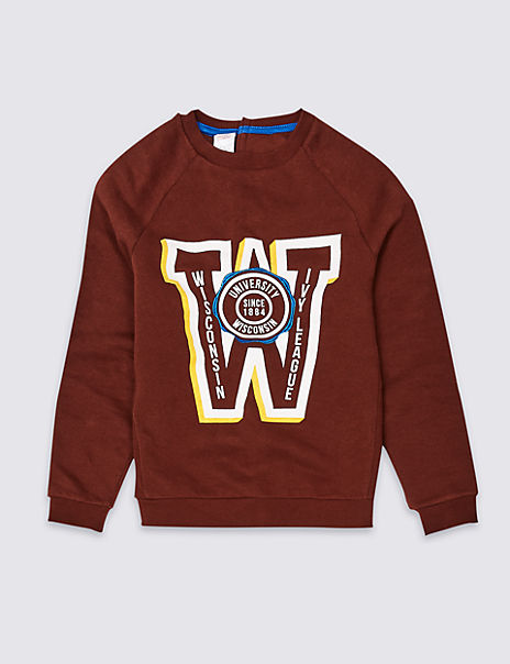 Easy Dressing Sweatshirt (3-16 Years)