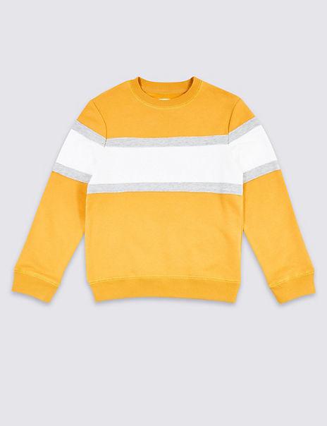Panel Sweatshirt (3-16 Years)