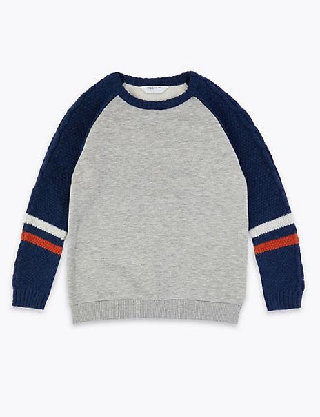 Cotton Sweatshirt (3-16 Years)
