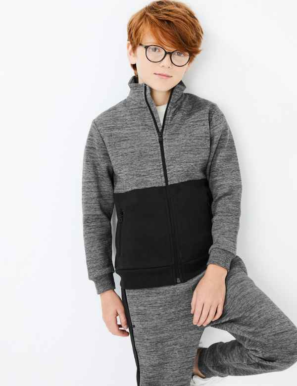f13df6580b7 Boys Jumpers And Cardigans | M&S
