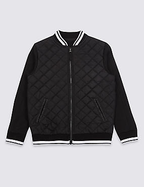 Quilted Sweatshirt (3-16 Years)