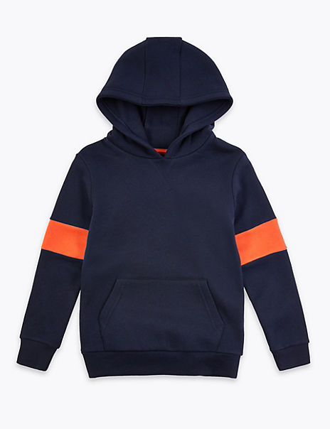Cotton Rich Hooded Sweatshirt (6-16 Years)