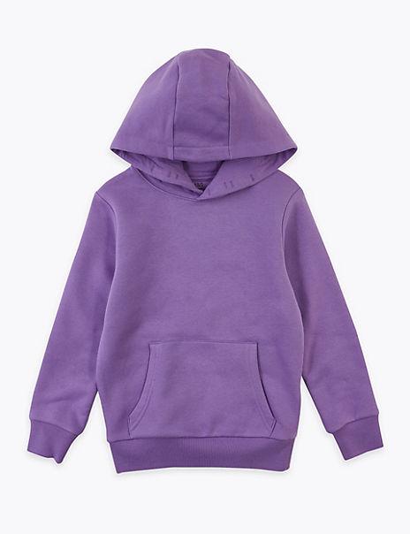 Cotton Hooded Sweatshirt (6-16 Years)