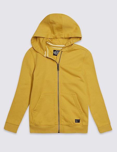 Hooded Zip Through Sweatshirt (3-16 Years)