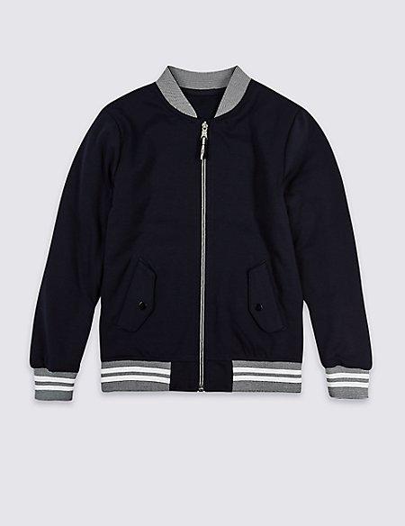 Zipped Sweatshirt (3-16 Years)