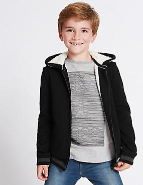 Zipped Hooded Top (3-14 Years)