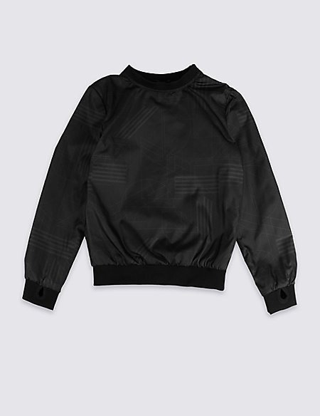 Crew Neck Shell Sweatshirt (3-16 Years)