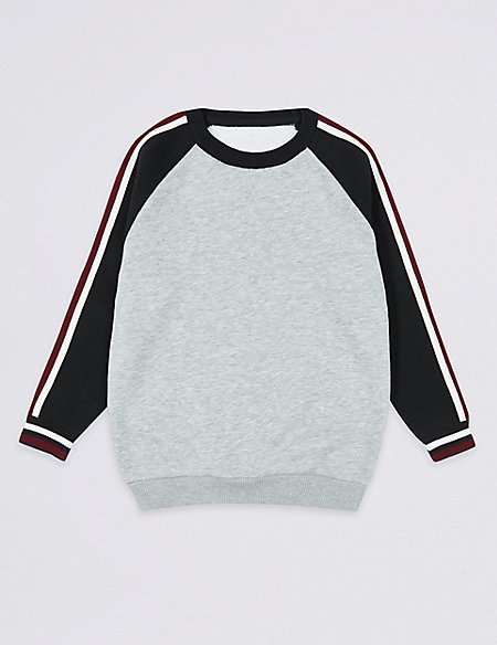 Cotton Rich Sweatshirt (3-16 Years)
