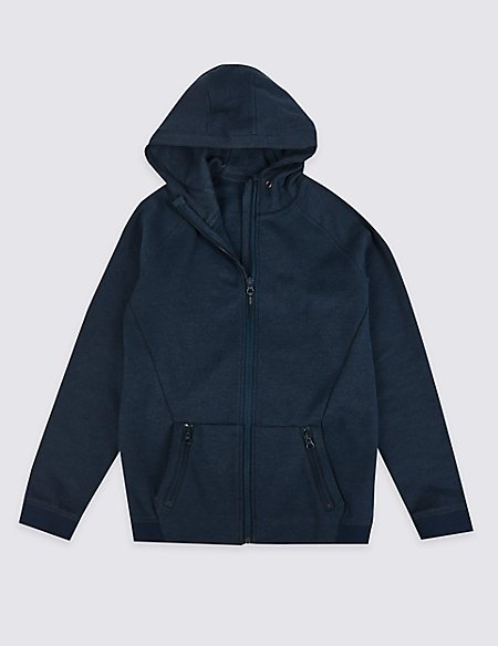 Hooded Zipped Top (3-16 Years)
