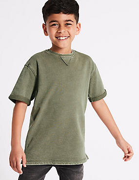 Pure Cotton Sweatshirt (3-16 Years)