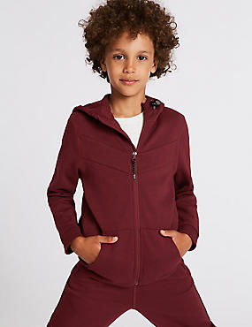 Cotton Rich Zip Through (3-16 Years)
