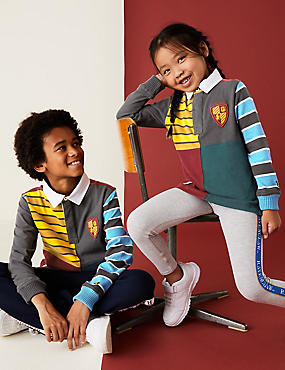 Harry Potter™ Pure Cotton Rugby Top (2-16 Yrs)