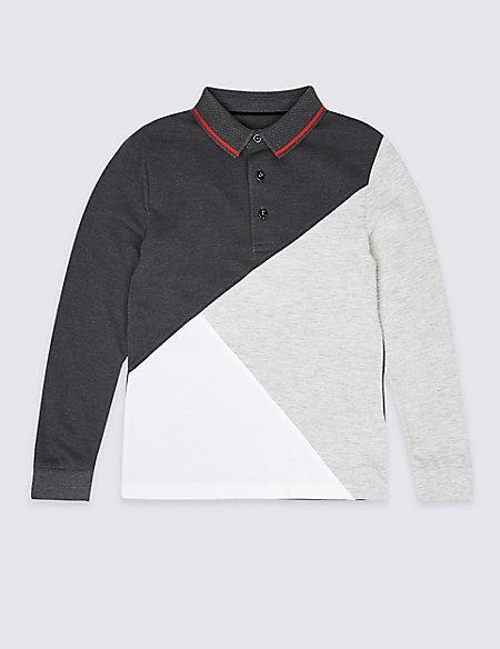 Cotton Rich Polo Shirt (3-16 Years)