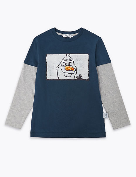 Disney Frozen 2 Olaf Cotton Top (2-10 Years)