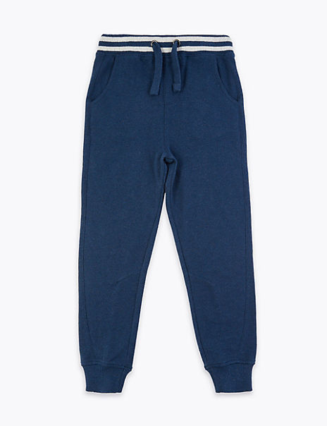 Pure Cotton Adaptive Pique Joggers (18 Months - 16 Years)