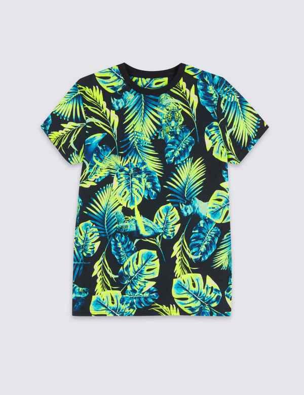 fa792deaf Pure Cotton Swim T-Shirt (3-16 Years)
