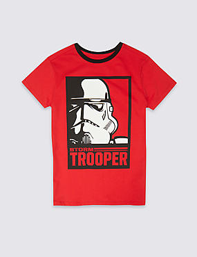 Star Wars™ Pure Cotton T-Shirt (3-16 Years)