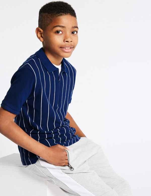 a447c6ff221 Pure Cotton Polo Shirt (3-16 Years)