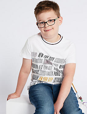 Easy Dressing T-Shirt (3-16 Years)