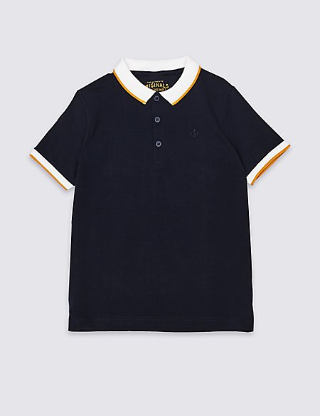 Easy Dressing Polo Shirt (3-16 Years)