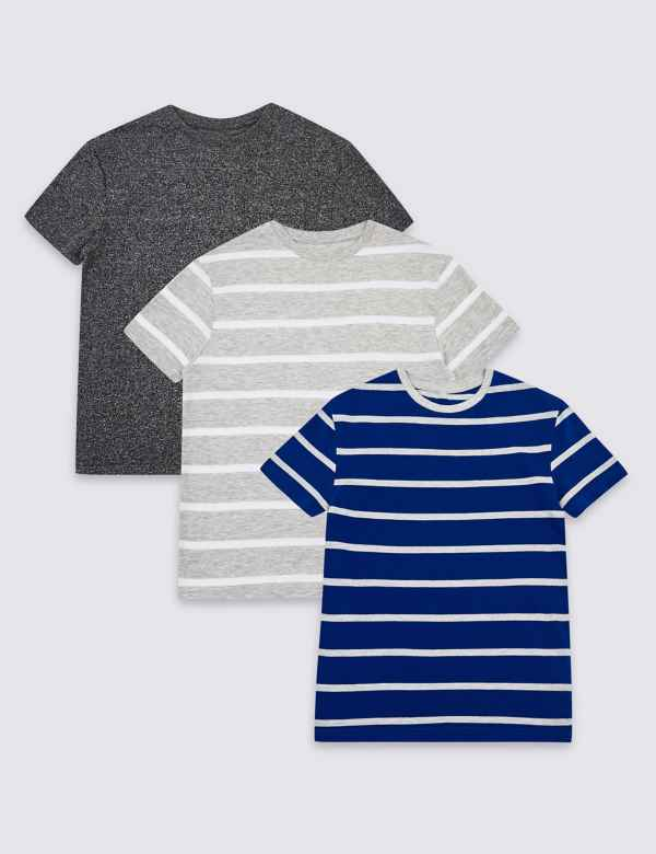 9d6590b02 3 Pack T-Shirts (3-16 Years)