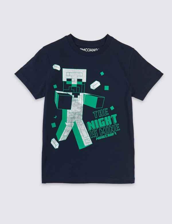 34eff5ba4 Minecraft™ Pure Cotton T-Shirt (3-16 Years)