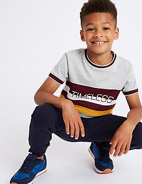Cotton Rich T-Shirt (3-16 Years)