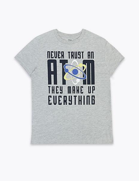 Never Trust An Atom T-Shirt (3-16 Years)