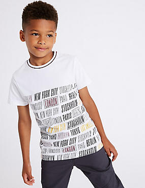 Pure Cotton T-Shirts (3-16 Years)