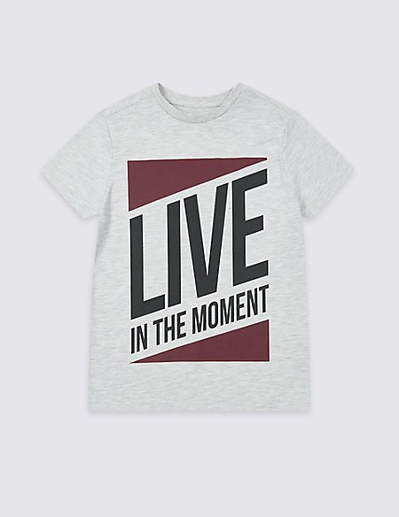 Live In the Moment T-Shirt (3-16 Years)