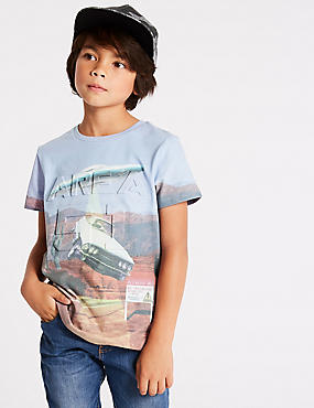 Cotton Blend T-Shirt (3-16 Years)