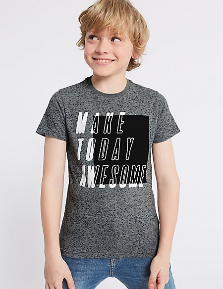 Make Today Awesome T-Shirt (3-16 Years)