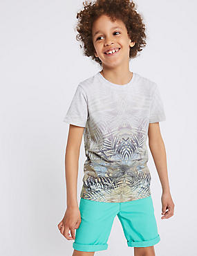Photographic Leaf T-Shirt (3-16 Years)