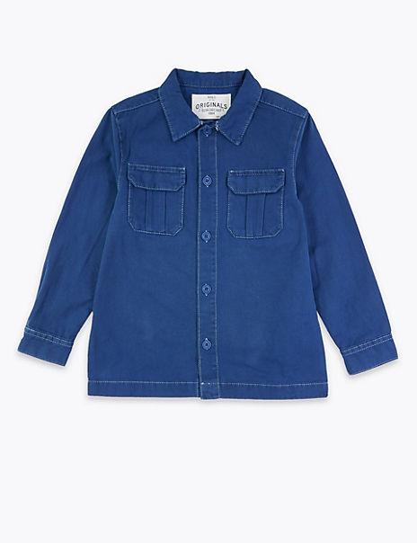 Cotton Workwear Jacket (6-16 Years)