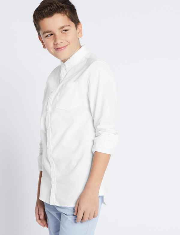 fb2be47f1fa8 Pure Cotton Shirt (3-16 Years)