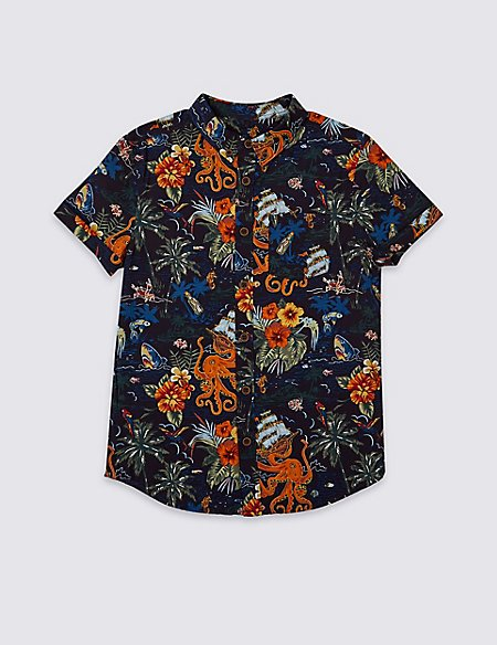 Cotton Rich Shirt (3-16 Years)