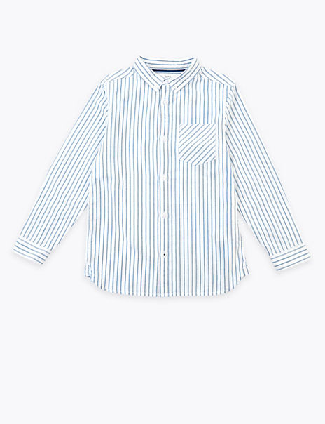 Cotton Striped Shirt (6-16 Years)