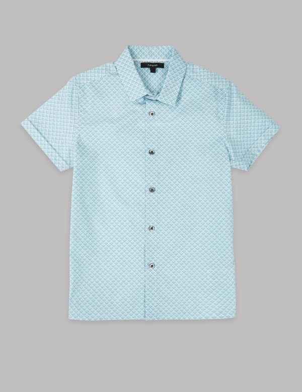 5e68b817 Pure Cotton Shirt (3-16 Years). Autograph
