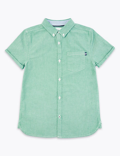 Cotton Oxford Shirt (6-16 Years)