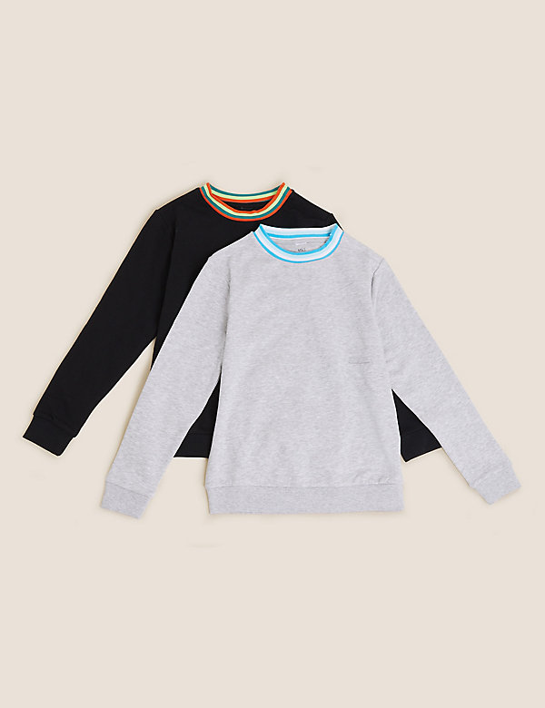 2pk Adaptive Cotton Sweatshirts (2-16 Yrs)