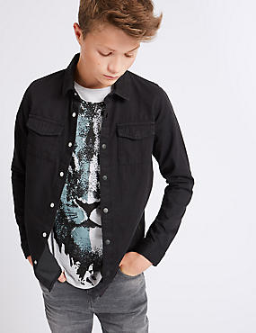 Denim Shirt (3-14 Years)