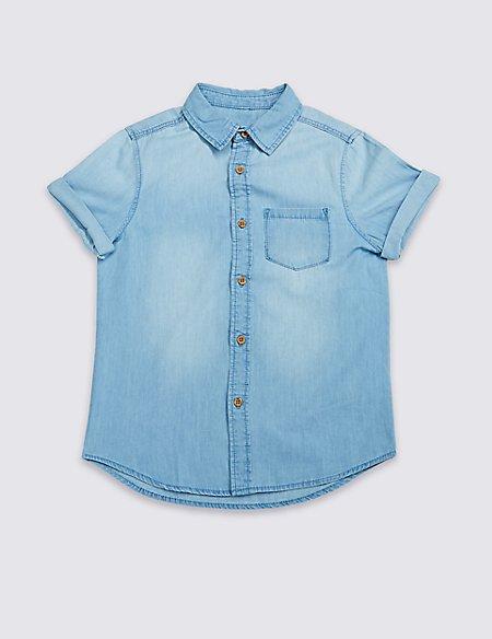 Pure Cotton Shirt (3-16 Years)