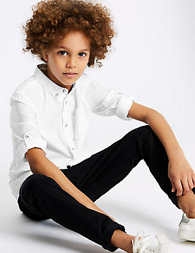 Pure Cotton Oxford Shirt (3-16 Years)