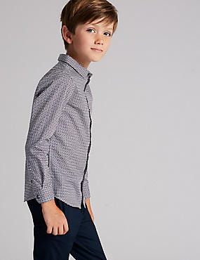 Pure Cotton Printed Shirt (3-16 Years)