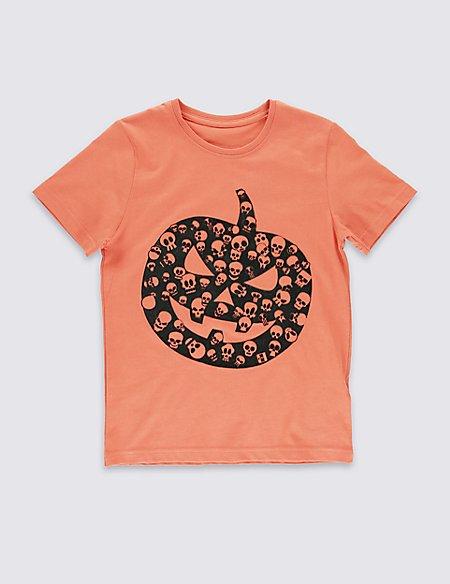 Pure Cotton Halloween T-shirt (5-14 Years)