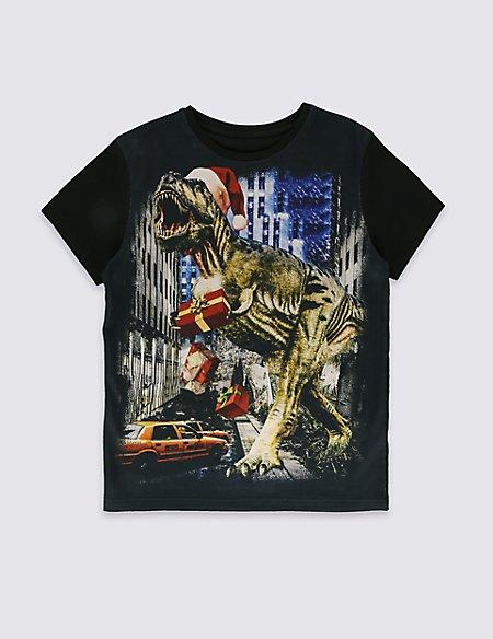 Augmented Reality Dinosaur T-Shirt (5-14 Years)